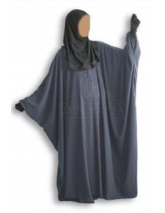 Butterfly abaya Umm Hafsa «CAVIARY LUXE » Grey