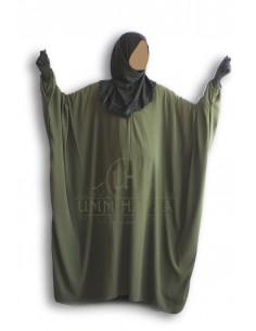 Abaya schmetterling Umm Hafsa «CAVIARY LUXE » Green