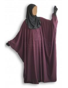 Butterfly abaya Umm Hafsa «CAVIARY LUXE » Purple