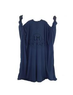 Abaya papillon Umm Hafsa - Bleu