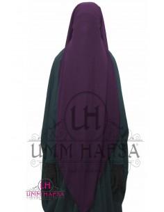 Niqab cap 95cm - Pflaume