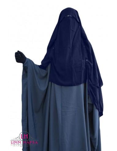 Niqab/Sitar Casquette à clips Umm Hafsa 1m50 - bleu