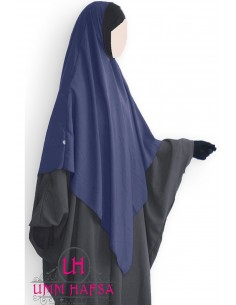 Hijab / Khimar Lycra Umm Hafsa - Blue