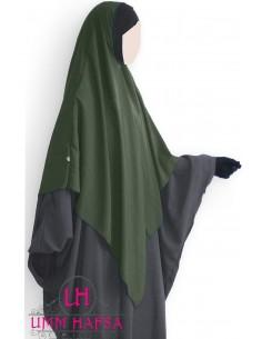 Hijab / Khimar Lycra Umm Hafsa - Kaki
