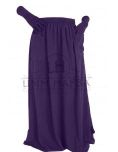 Skirt Umm Hafsa - Eggplant