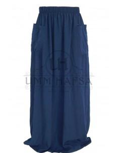 Jupe à poches Umm Hafsa - Bleu marine