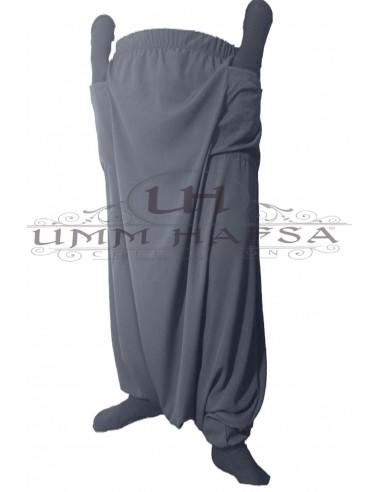 Sarouel à poches Umm Hafsa - Gris