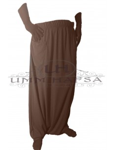 SAROUEL / PANTS Umm Hafsa - Brown