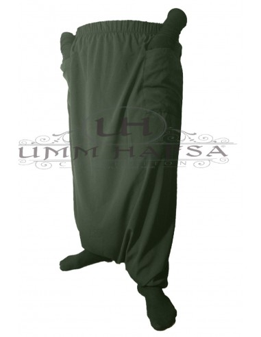 Sarouel à poches Umm Hafsa - Vert kaki