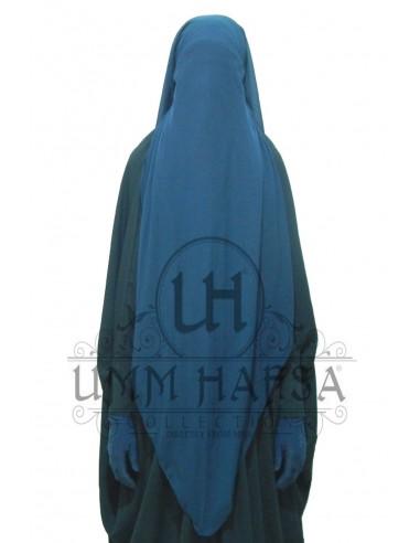 Niqab/Sitar Casquette 95cm- Bleu