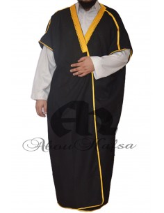 Design bisht for men Abou Hafsa - Black