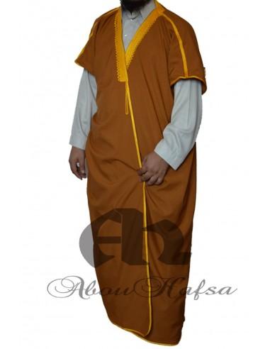 Bisht Saoudien Abou hafsa - Motif doré