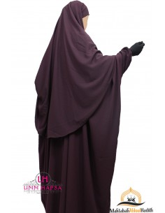Abaya /Hijab Cape Umm Hafsa - Purple