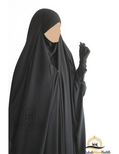"Jilbeb saoudien à clips ""Caviary luxe"" - Noir"