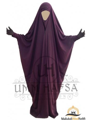 Jilbab Saoudien a clips Umm Hafsa - Purple