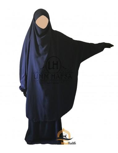 Jilbeb 2 pieces Classique Umm Hafsa - Bleu marine
