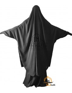 "Jilbab 2 pieces Classique ""jupe"" Umm Hafsa - Gris"