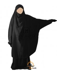 jilbab 2 pieces Classique Umm Hafsa - Black