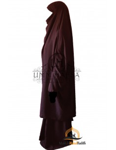 "Two Piece Jilbab Classic ""Skirt"" Umm Hafsa - Purple"