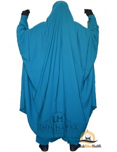"Two Piece Jilbab Zip ""Sirwel"" Umm Hafsa - Green Duck"