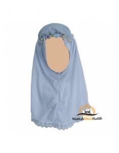 Hijab / Khimar enfant - Blanc