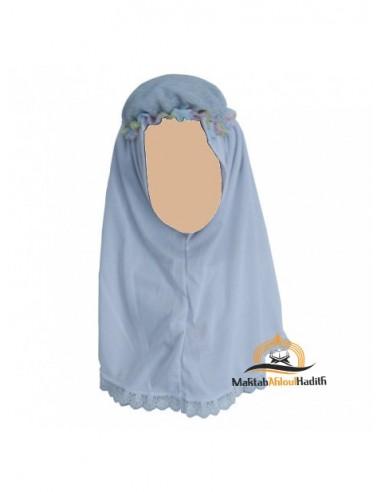 Hijab fillette - Blanc