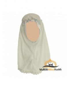 Hijab fillette - Beige clair