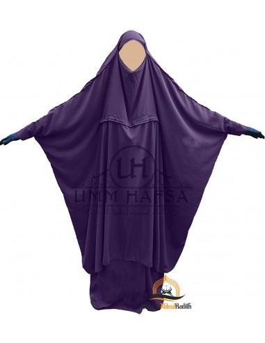 Jilbeb de maternage Umm Hafsa - Aubergine
