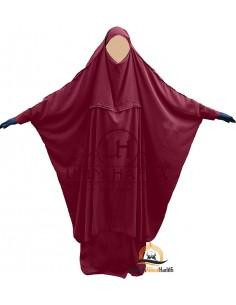 """Maternity/porterage Jilbab """"Skirt"""" Umm Hafsa - Burgundy"""