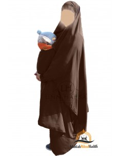 "Jilbab de maternage/portage ""jupe"" Umm Hafsa  - Marron"