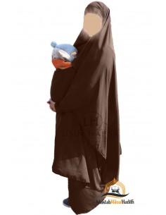 "Maternity/trägerlohn Jilbab ""Rock"" Umm Hafsa - Braun"