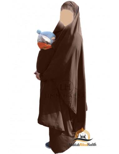 Jilbeb de maternage Umm Hafsa - Marron