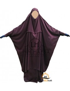"Jilbab de maternage/portage ""jupe"" Umm Hafsa - Prune"
