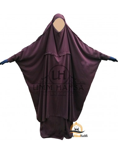 Jilbab de maternage Umm Hafsa - Prune
