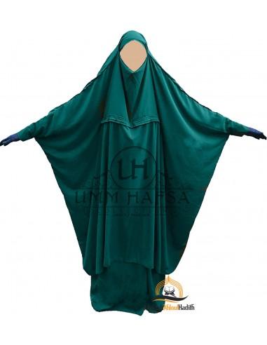 Jilbab de maternage Umm Hafsa - Vert Canard