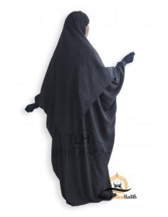 Abaya/Hijab Lycra Umm Hafsa - Grey