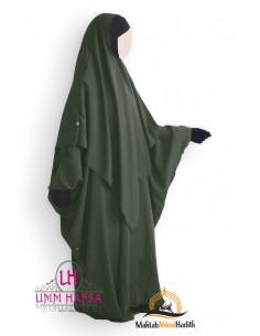 Abaya/Hijab Lycra Umm Hafsa - GREEN