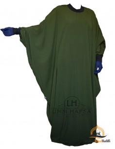 Abaya/Hijab Lycra Umm Hafsa - Khaki