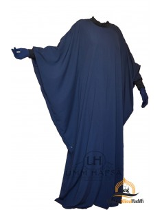Abaya Lycra Umm Hafsa - BLEU