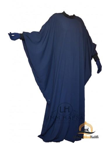 Abaya Lycra Umm Hafsa - BLEU NUIT