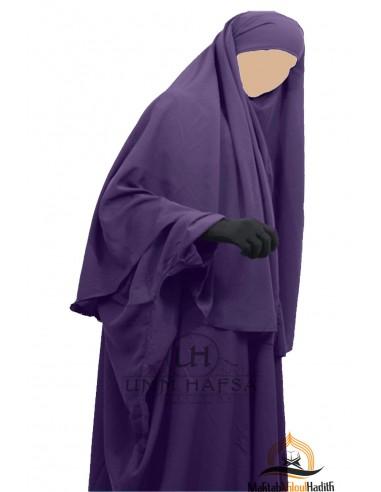 Hijab Cape umm hafsa - Aubergine
