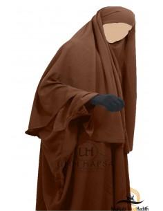 Hijab / khimar Cape Umm Hafsa - Cannelle