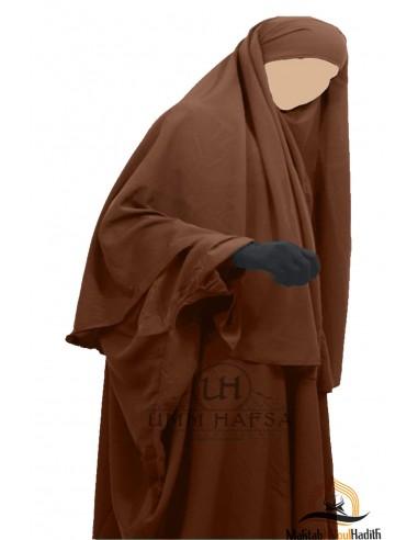 Hijab Cape Umm Hafsa - Cannelle