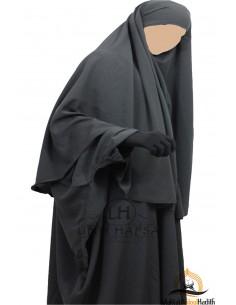 Hijab / khimar Cape Umm Hafsa - Gris