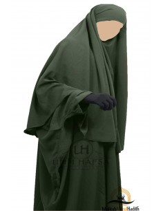 Hijab Cape Umm Hafsa - Kaki