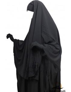 Hijab / Khimar Cape Umm Hafsa - Noir