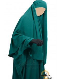 Hijab / Khimar Cape Umm Hafsa - Vert Canard
