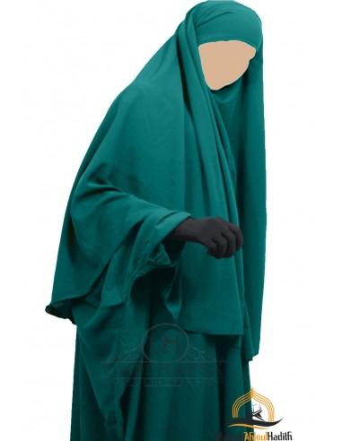 Hijab Cape Umm Hafsa - Green Duck