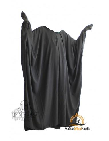 """Abaya papillon Umm Hafsa """" Nidha luxe """" - Noir"""