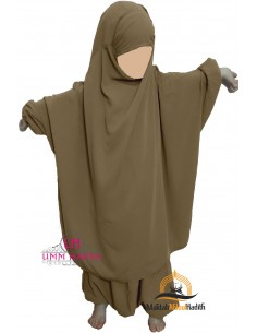 "jilbab child ""pants"" Umm Hafsa - Beige"